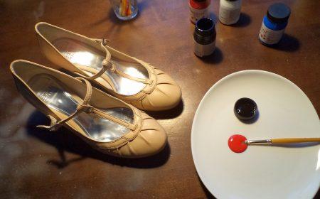 malowanie butów