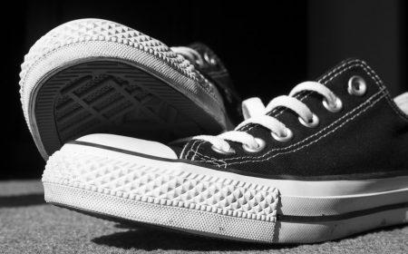 jak czyścić gumę w butach