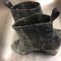 Jak usunąć pleśń z butów?